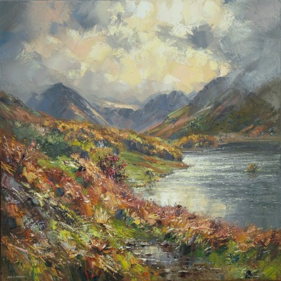 Rex PRESTON - Sunlight after the Rain, Crummock Water